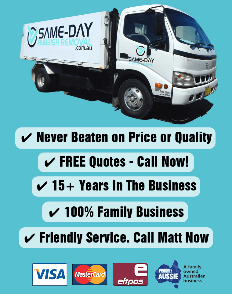 Same-Day Rubbish Removal in Sydney   Fast, Affordable & Reliable