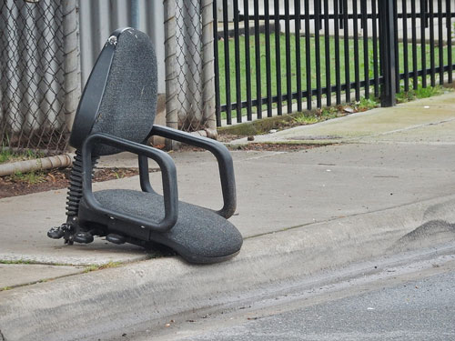 Commercial Rubbish Removal Office Chair
