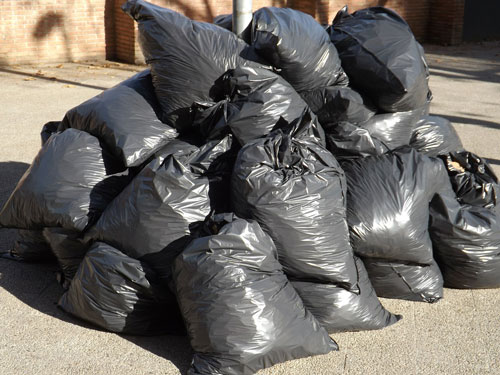 Pile of Garbage Bags