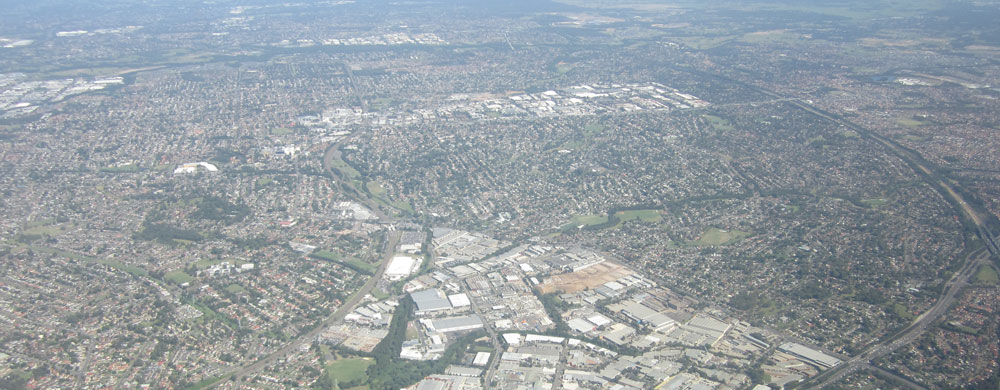 Aerial View of the Hills District