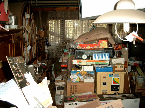 Hoarded Junk to Remove