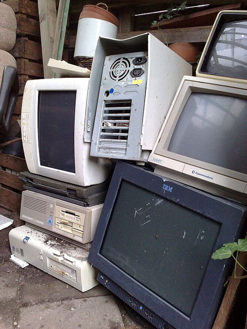 Old Computers and Monitors