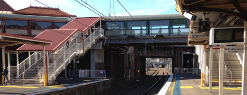 Redfern Rubbish Train Station