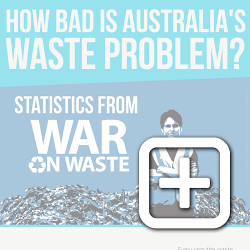 War On Waste Infographic Statistics