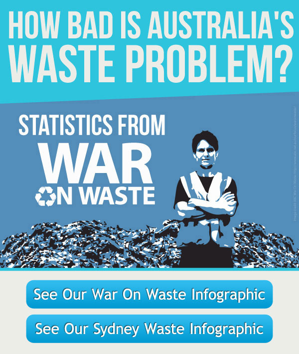 War on Waste Infographic